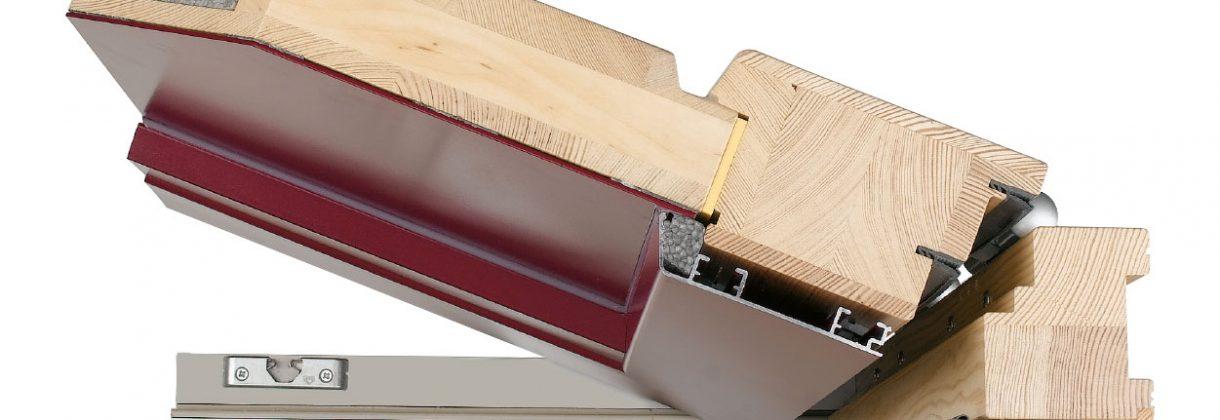Holz Aluminum Haustür