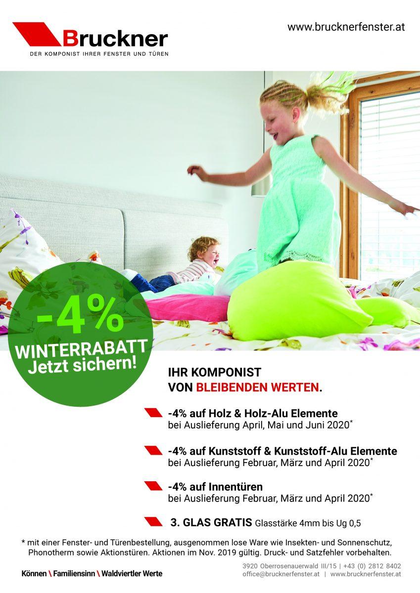 Bruckner Wien - Unsere Aktionen im November