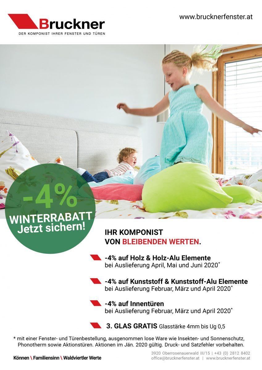 Bruckner Wien - Unsere Aktionen im Jänner