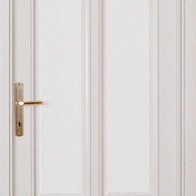 VIOLA - Massiv weiß lackiert, satiniert mit Facettenschliff