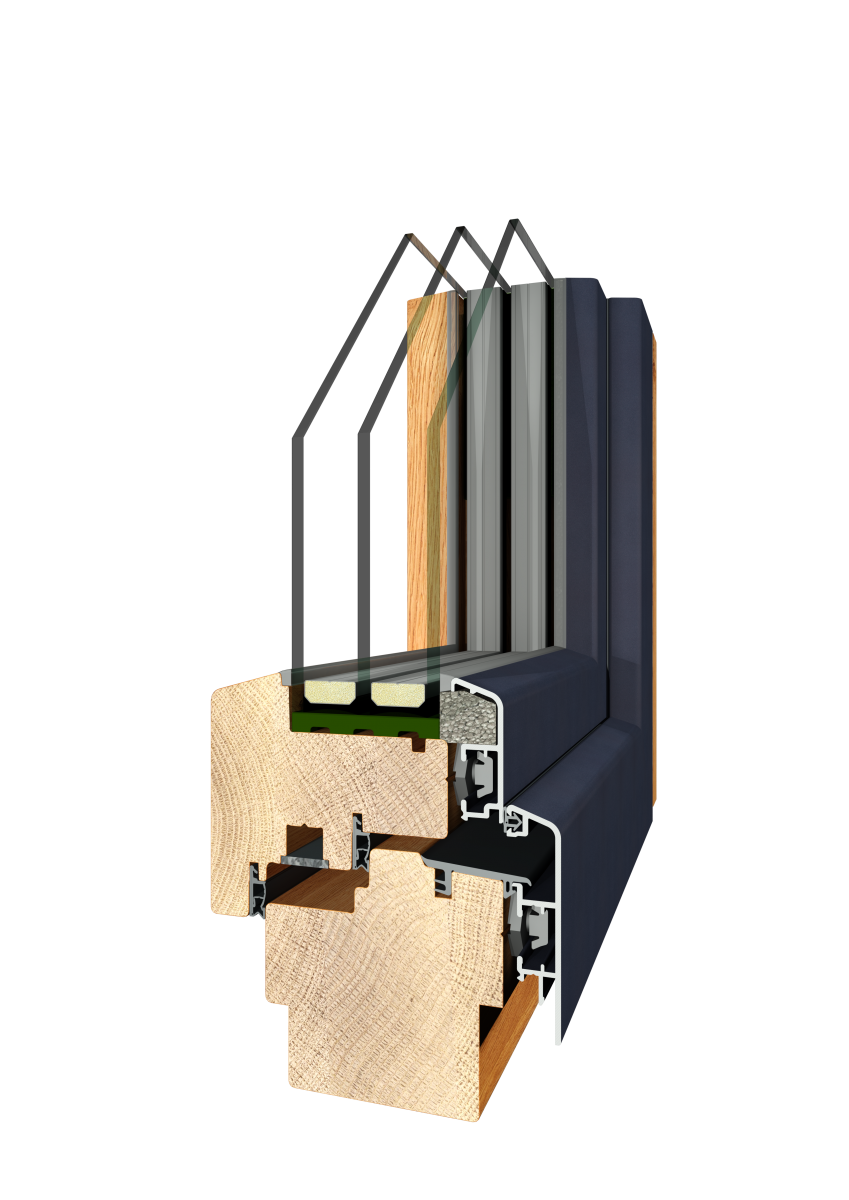 Holz Alu QUATTROGENIAL 116