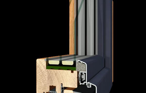 Holz Alu INSIDE FLAT