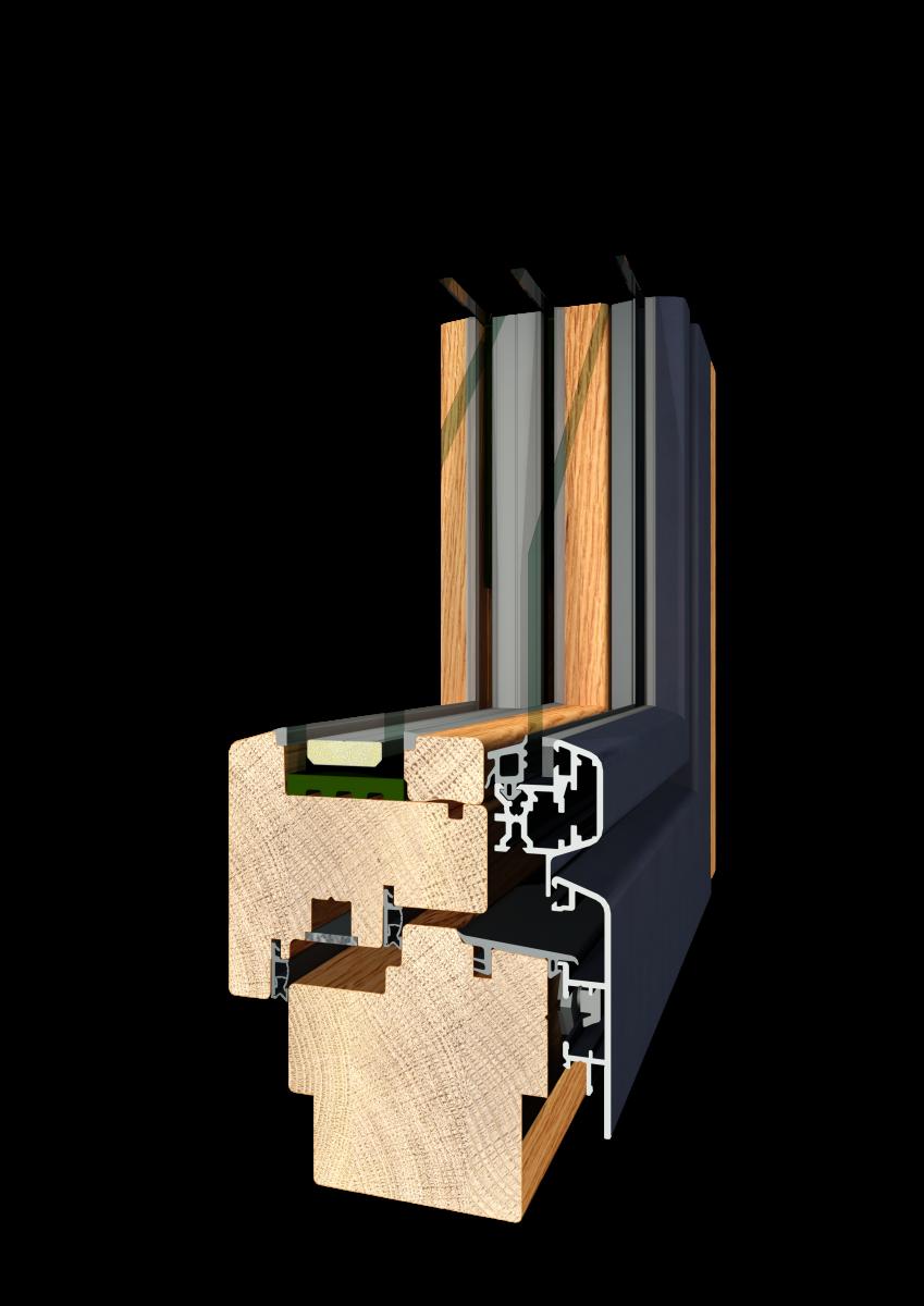Holz Alu VERBUND
