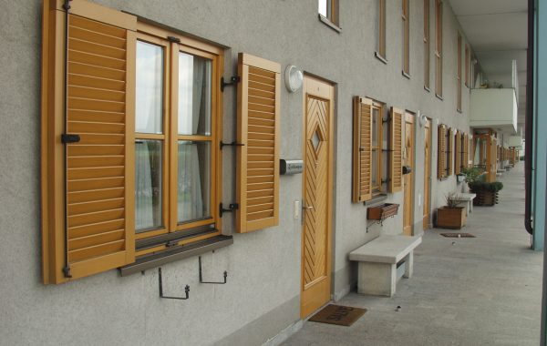 Fensterläden aus Aluminium